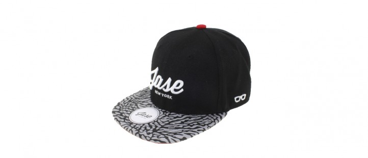 Jase New York Snapback - Cement