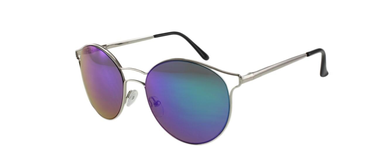 e5ef761b476 Jase New York Collins Silver Green Sunglasses