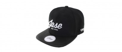 Jase New York Snapback - Leather